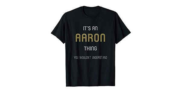 Aaron prénom garçon t-shirt motif imprimé Funshirt Design Print