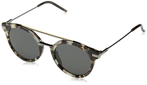 Fendi FF 0225/S 03MA Havana/Ruthenium Round - Outlet Fendi Sunglasses