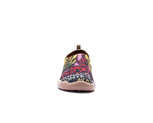 Multicolore Dorée Peintes Plage Toiles Chaussures Femme Pour De Sportives Uin UaqB0a