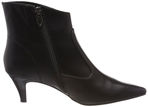 Tamaris 001 Noir Femme Botines Noir Black 25328 ww4Uaqz