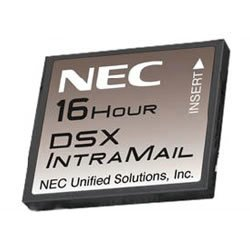 NEC DSX Systems 1091013 DSX IntraMail 8 Port 16 Hour VoiceMail (NEC-1091013) (Intramail 8 Port)