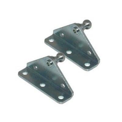 10MM Ball Stud Bracket for Gas Spring/Prop/Strut (2 Pack): Automotive