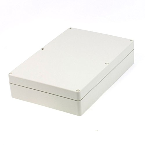 Saim ABS Plastic Waterproof Electronic Project DIY Junction Box Enclosure Case 263mm x 182mm x 60mm]()