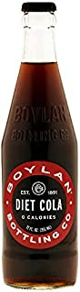 product image for Boylan Bottling Pure Cane Sugar Soda Pop, Diet Cola, 12 oz Glass Bottles (Pack of 6)