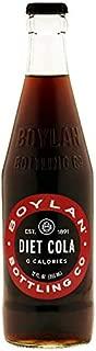 product image for Boylan Bottling Pure Cane Sugar Soda Pop, Diet Cola, 12 oz Glass Bottles (Pack of 12)