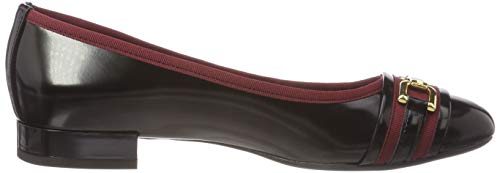 Nero Bordeaux C0241 D Donna Ballerine Wistrey C Black Geox 7waTq