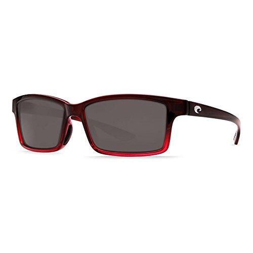 Costa Del Mar Tern Adult Polarized Sunglasses, Pomegranate Fade/Gray 580P, - Sunglasses Tern Costa Polarized