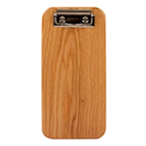 Risch Country Check Presenter w/Clip, Solid Wood, Oak ()