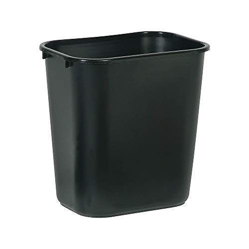 (Brighton Professional Wastebasket, Black, 7 gal. by Staples )