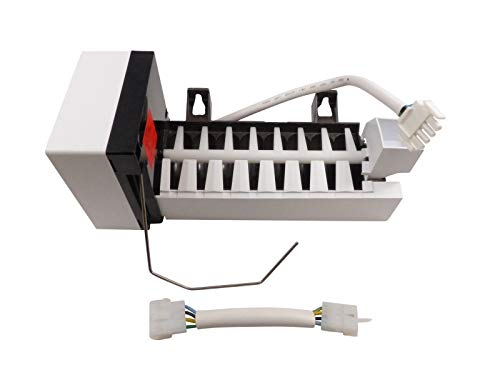 - (KS) 241798224 241642511 241798201 241642501 PS10057209 3206327 Ice Maker with Harness Exact Replacement for Frigidaire