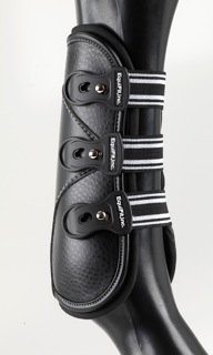 EquiFit D-TEQ Boots w/ ImpacTeq Liners - Urethane Tab - Front by EquiFit