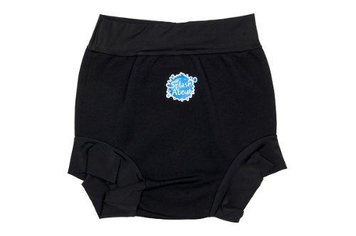 Splash About Adult Splash Swimming Shorts (Black, Small (66cm waist))