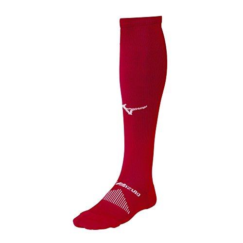 Mizuno Performance Otc Sock, Red, Large -