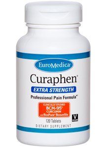 Euromedica Curaphen, Extra Strength, 120 tabs (1)