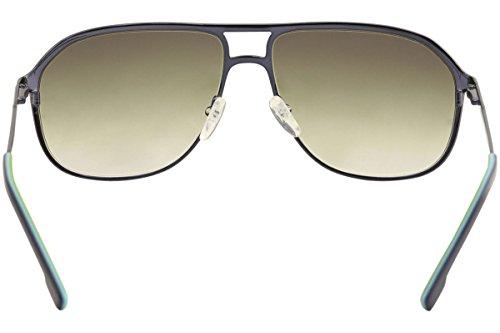 6f23587badf3b LACOSTE Sunglasses L139SB 424 Shiny Blue Aviator Mens 60x14x140 ...
