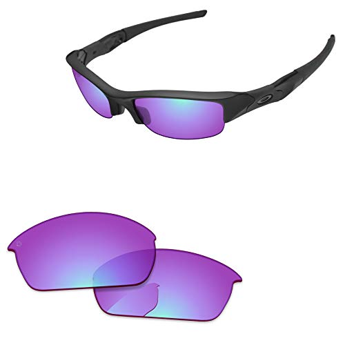 PapaViva Lenses Replacement for Oakley Flak Jacket Pro+ Magenta Golf - Flak Jacket Golf