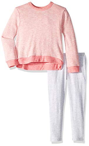 - Splendid Little Girls' Kids and Baby Long Sleeve Sweatshirt and Bottom 2 Piece Set, Shanghai La Rose 6X