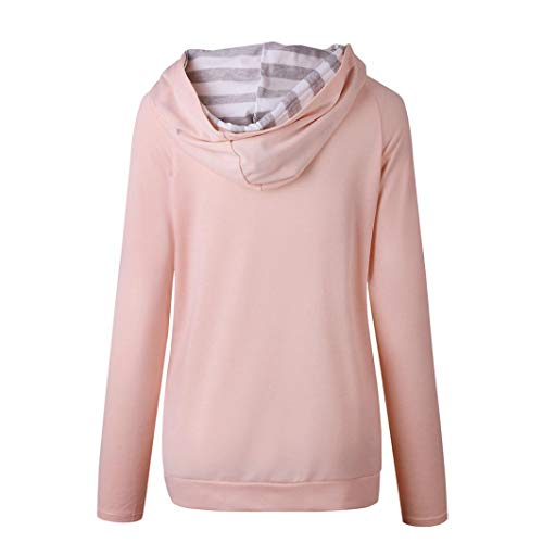 Courtes Top Dcontract Manches DAYLIN Femme Solid V Chemisier Rose Col q40U7x