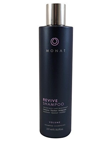 Monat Volume System – Revive Volumizing Shampoo, Revitalize Conditioner and Reshape Root Lifter Bundle with Free Linen…