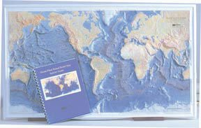 Ocean Floor Raised Relief Map (SciEd Ocean Floor Raised Relief Map; Activity Guide)