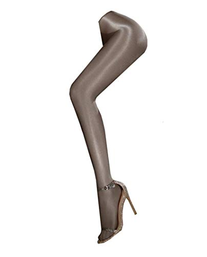Shaping Stockings Dance Socks Shiny Flash Super-slick Body Stockings Pantyhose 70D (grey)