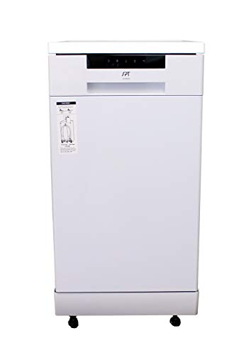 SPT SD-9263W Portable dishwasher, WHITE