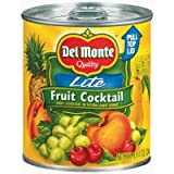 Del Monte 100 Calorie Extra Light Syrup Fruit Cocktail