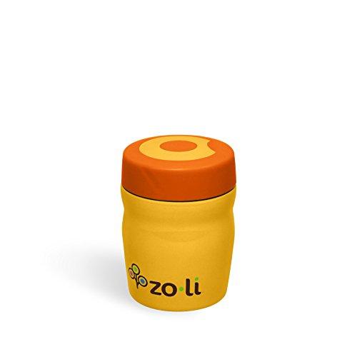 Gold Accent Lunch (ZoLi DINE Vacuum Insulated Food Jar - Orange)