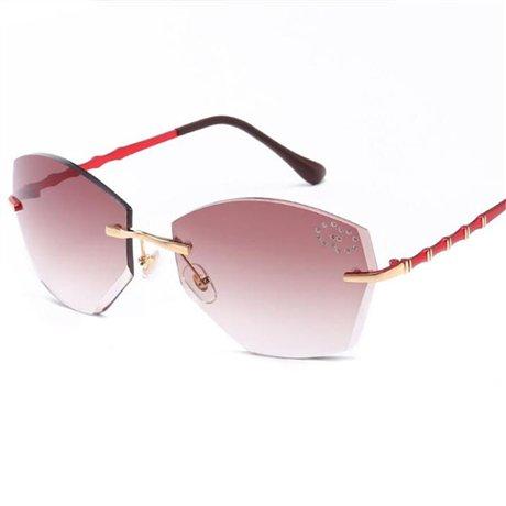 montura Gafas gradual marca para cuadradas con de Gafas sol mujer sin la corte Purple Diseñador Púrpura de GGSSYY graduadas aInP1dqI