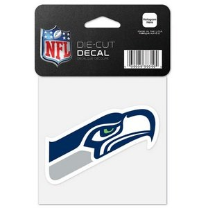 (NFL Seattle Seahawks 63080012 Perfect Cut Color Decal, 4