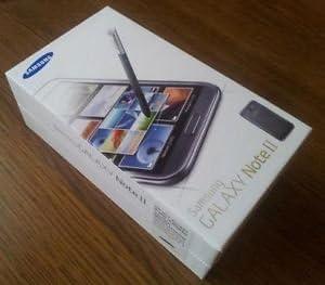 Repuesto original para Samsung Galaxy Note 2, caja vacía, color ...