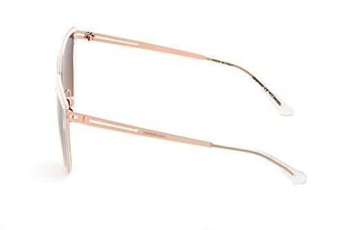 b6c69568ae DESPADA, Made In ITALY Cat Eye Polarized Lens Metal Frame Ladies Sun  glasses Ds1552