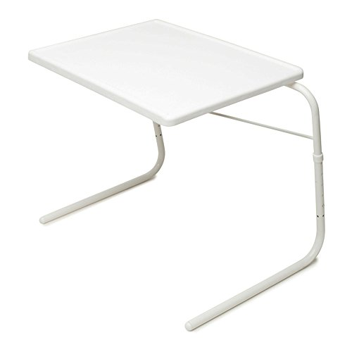 Table-Mate V Wheelchair Tray and Overbed Table (White) (Small Closet Desk)