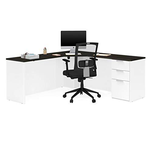 - Bestar Corner Desk with Pedestal - Pro-Concept Plus