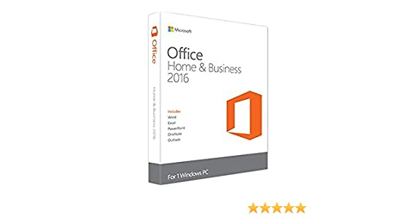 Microsoft Office Home & Business 2016 - Suites de programas (1280 x 800 Pixeles, ESP, Windows 10 Education, Windows 10 Education x64, Windows 10 Enterprise, ...