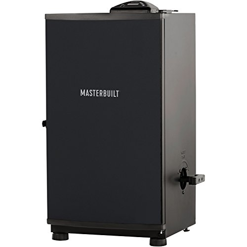 Masterbuilt 20070910 30-Inch Black Electric Digital Smoker, Top Controller Masterbuilt