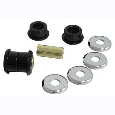 Bkrider Heavy Duty Handlebar Bushing Kits for Harley Big Twin and Sportster Models Black (C01023562) - Sportster Big Twin Models