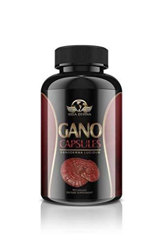 "King of Herbs,Vidadivina's Popular"" Gano"" 90 Capsules 500 MG"