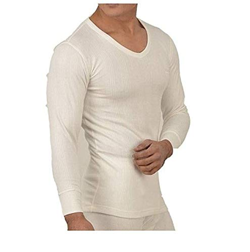 5dc0df61bbd Lux Inferno Men s Wool Thermal Upper Inner (White)  Amazon.in  Clothing    Accessories