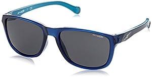 Arnette Straight Cut Unisex Sunglasses - 2313/87 Dark Blue/Sky Blue/Grey