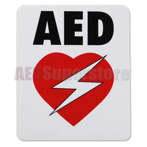 Decal AED High Performance Vinyl for Resale - AMP1717-RES
