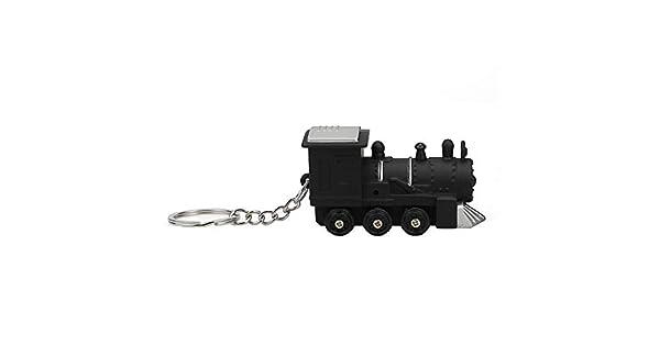Amazon.com: Llavero de tren con luz LED y sonido para niños ...