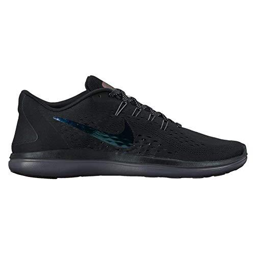 Nike Women's Flex 2017 RN BTS Running Shoes (6 B(M) US, Black Dark Grey Dark Grey)