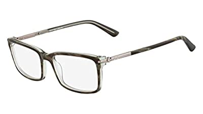 Calvin Klein Collection CK7975 Eyeglasses 318 Olive Horn