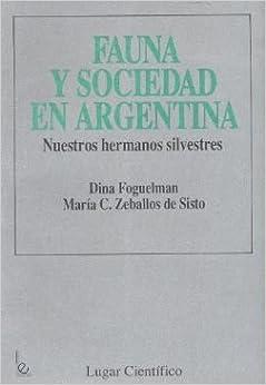 Book Fauna y Sociedad En Argentina