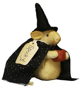 mr warlock mouse 5 fabric halloween mouse ornament from primitives by kathy - Primitives By Kathy Halloween