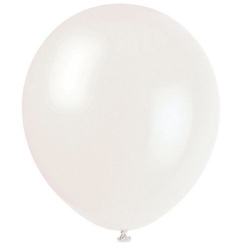 12 Latex Clear Balloons 72ct