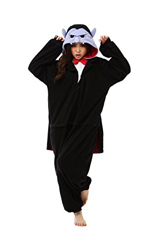 [Vampire Kigurumi - Adult Costume (a.k.a Dracula)] (One Night Stand Costume For Girls)