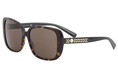 (Versace Women's VE4357 Havana/Brown One Size)