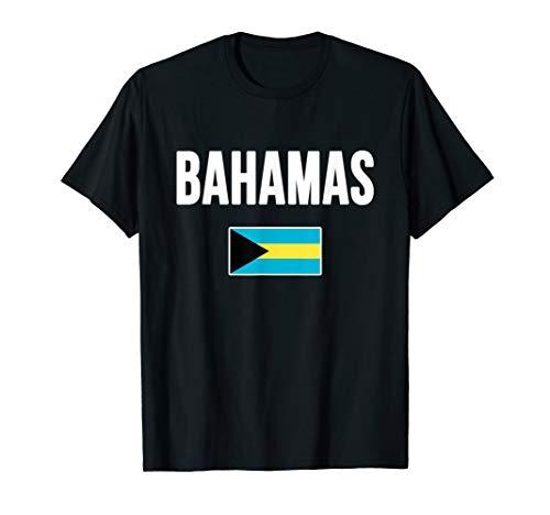Bahamas T-shirt Bahamian Flag Love Souvenir Gift